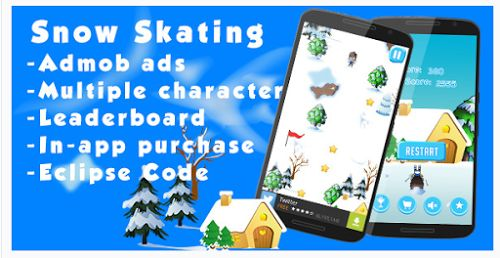 Snow Skating - Codecanyon