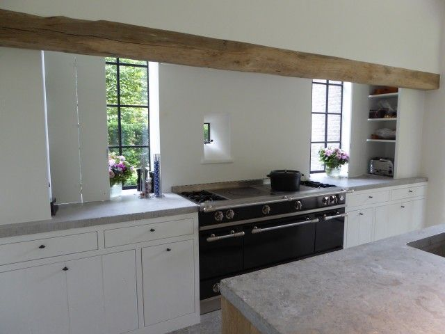 Landelijke Keuken Domus : ... Grijze Keukens op Pinterest - Grijs ...