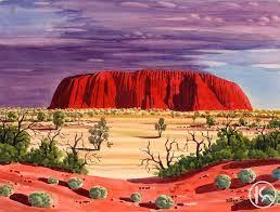 albert namatjira famous paintings - Google Search