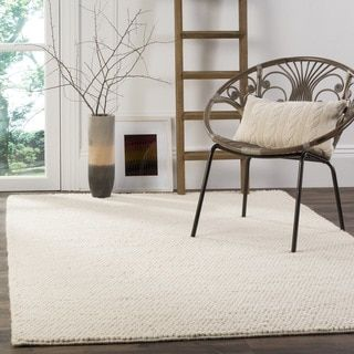 Shop for Safavieh Handmade Natura Southwestern Ivory Wool / Cotton Rug (5' x 8'). Get free shipping at Overstock.com - Your Online Home Decor Outlet Store! Get 5% in rewards with Club O!