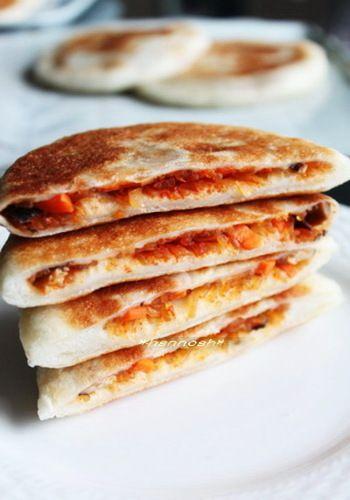 焼きたての香りが幸せ♪パンもケーキも!ホームベーカリー活用レシピ ... ごま油が香る、韓国料理のホットクもホームベーカリーで!生地を捏ねて