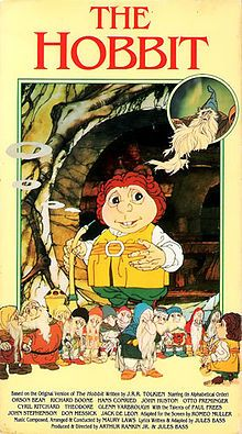 Read The Hobbit with the illustrations based on the 1977 Animated film.
