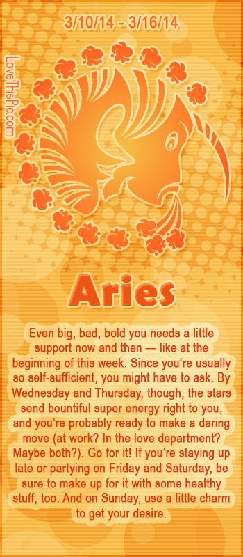 ARIES WEEKLY HOROSCOPE 3/10/14 - 3/16/14 astrology zodiac aries horoscopes horoscope weekly horoscope astrological forecast horoscope signs predictions