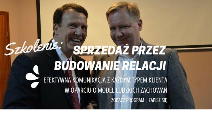 Sprzedaż poprzez budowanie relacji. Na zdjęciu Robert Rohm - twórca Modelu Ludzkich Zachowań oraz Jarosław Rubin - trener Value Creation.