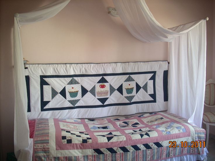 Bed and canopy of my dougther