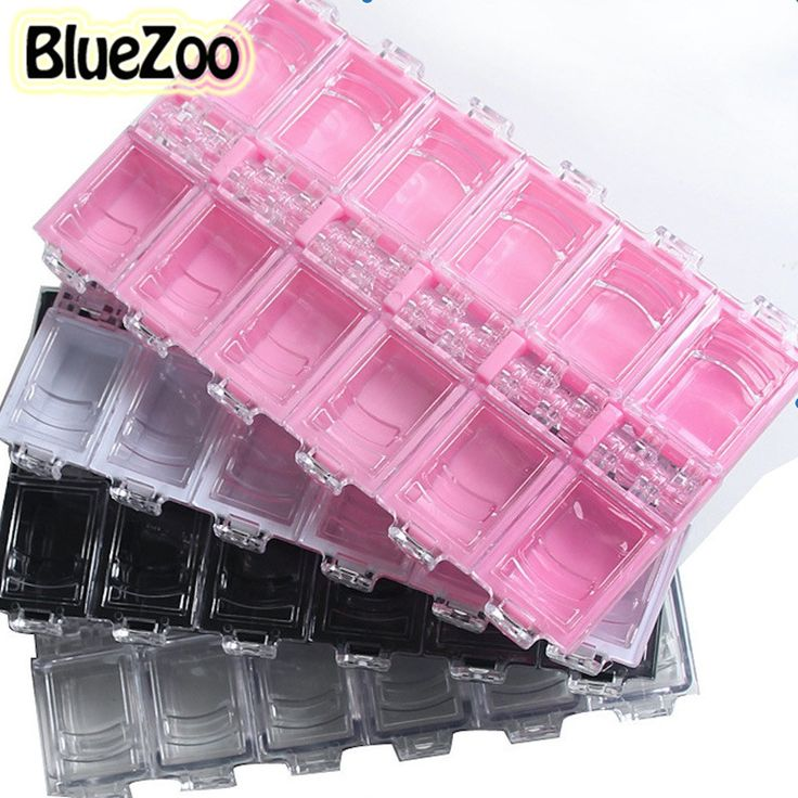 $1.57 (Buy here: https://alitems.com/g/1e8d114494ebda23ff8b16525dc3e8/?i=5&ulp=https%3A%2F%2Fwww.aliexpress.com%2Fitem%2FTop-Quality-2016-New-12-Grids-Nail-Art-Detachable-Plastic-Storage-Box-Rhinestone-Jewelry-Beads-Pills%2F32677380892.html ) BlueZoo Top Quality 12 Grids Nail Art Detachable Plastic Storage Box Rhinestone Jewelry Beads Pills Box Nail Art Decorations for just $1.57