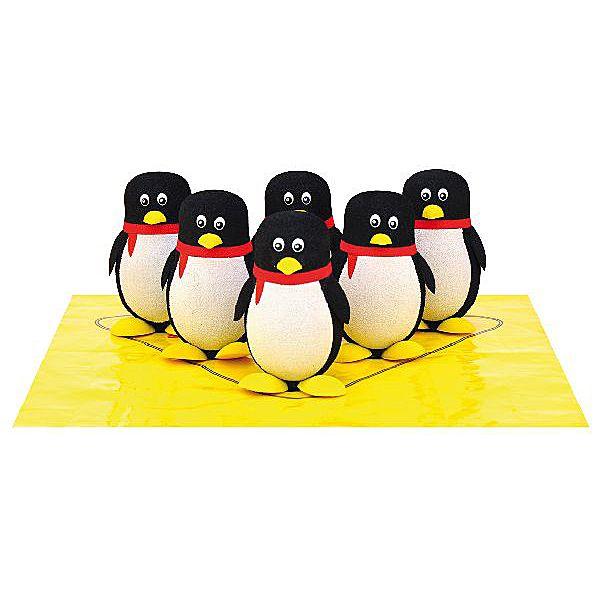 Eduplay, Pinguinbowling, Bowling für Kinder, für drinnen und draußen,.