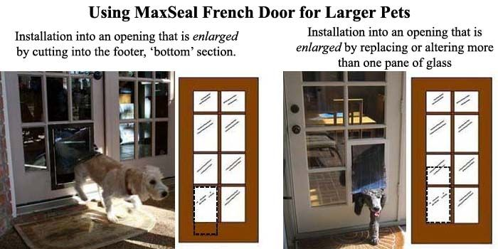 Installing A Doggie Door In A French Door Patio Ideas Pinterest