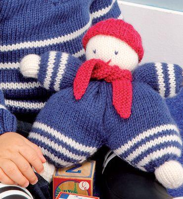 modèle doudou au tricot gratuit