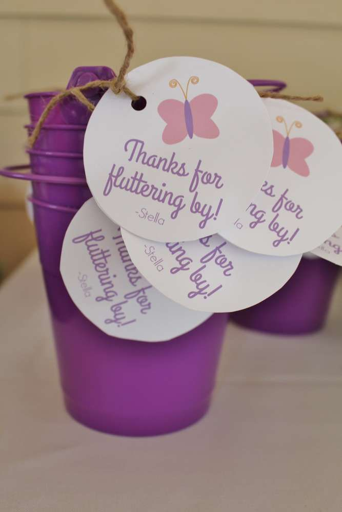 Butterflies Birthday Party Ideas | Photo 10 of 23