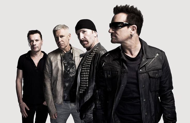 U2 - Bono, The Edge, Adam Clayton & Larry Mullen