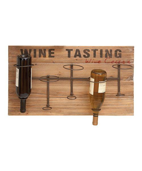 39 Wine Tasting 39 Five Bottle Wood Wine Rack Bottle Wine