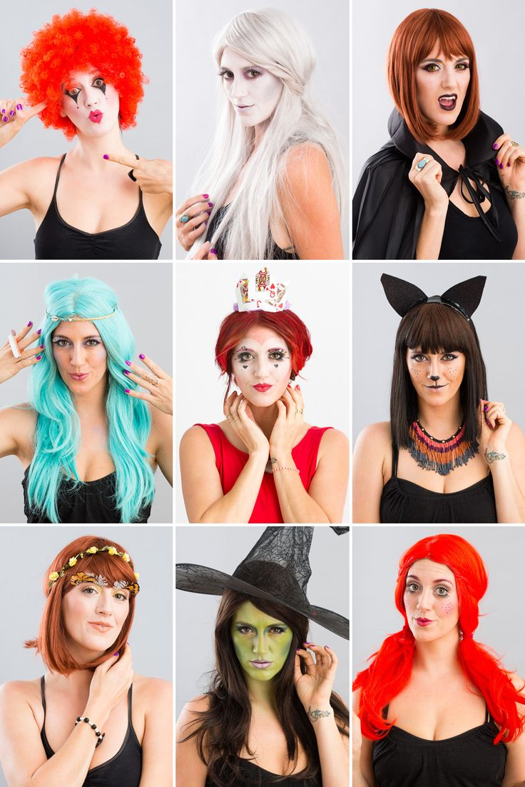 This makeup tutorials are perfect for last minute Halloween inspiration.