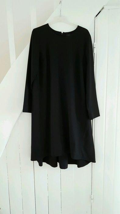 COS schwarzes Kleid im Mantelstil. Gr 44 | Schwarzes kleid ...