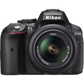 Compra Cámara Réflex Nikon D5300 con Lente 18-55mm-Negro online ✓ Encuentra los mejores productos Cámaras Reflex Nikon en Linio México ✓