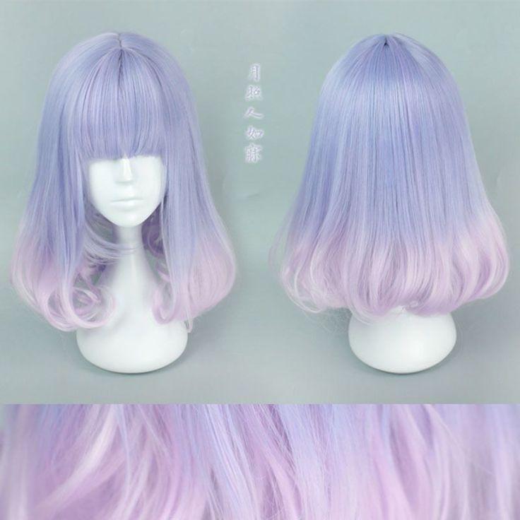 New Cute Harajuku Wig via Kawaii Store. Click on the image to see more!