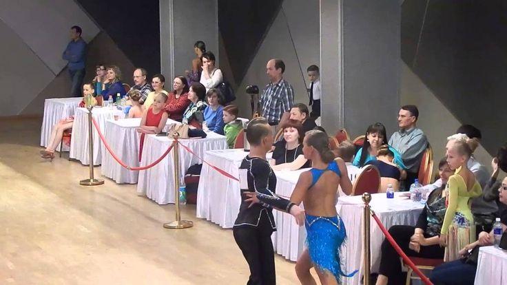 Бальные танцы Финал Молодежь Ча-Ча-Ча Козинцева Мария и Пронченков Вячес...