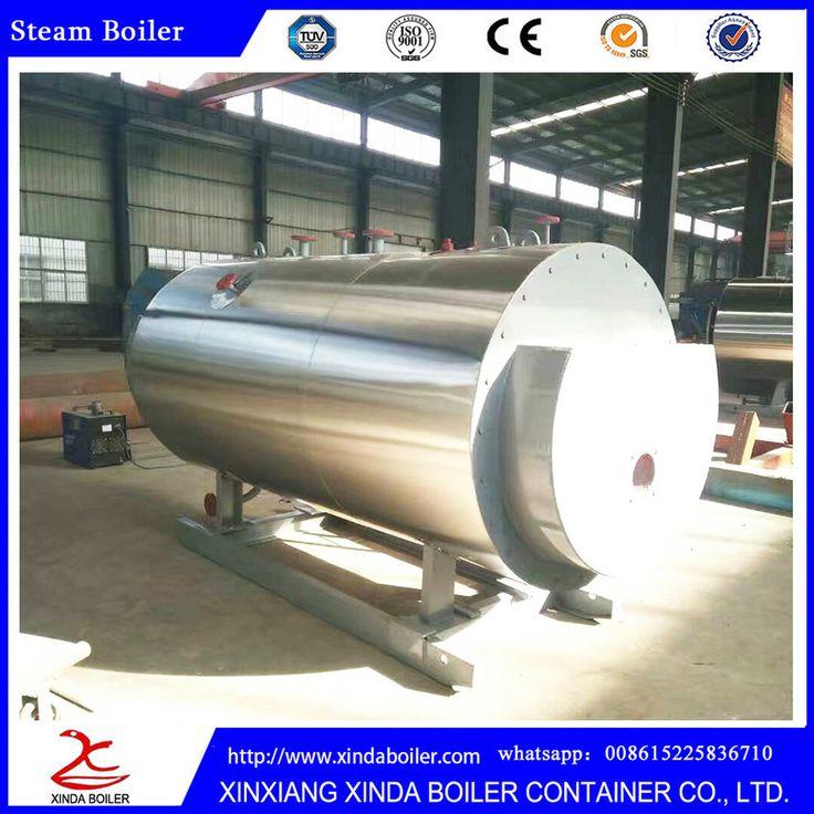Light Heavy Diesel Oil 2000Kg Steam Boiler Supplier
