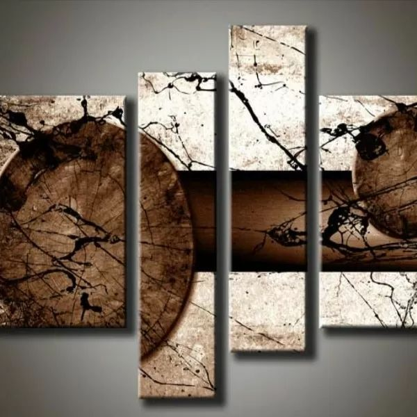 17 terbaik ide tentang cuadros modernos para living di - Cuadros abstractos minimalistas ...