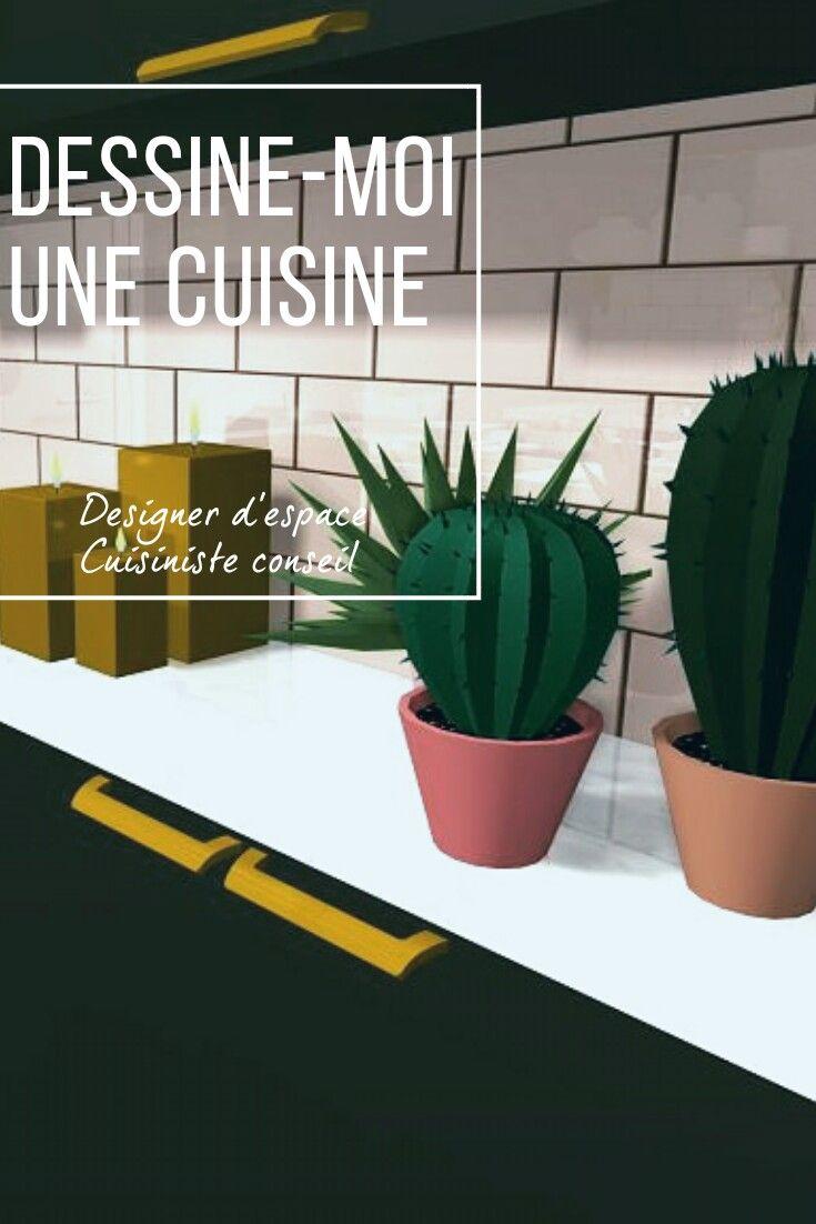 Cuisine Rose Poudré Et Cuivre Projet 3d En Ligne Cuisine
