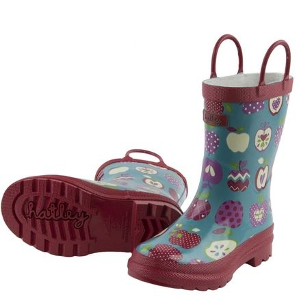 Hatley - Orchard Apples Wellies - Primary Colours