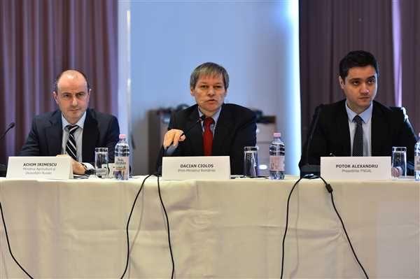 Ministrul Agriculturii  Achim Irimescu si Primul-Ministru Dacian Ciolos, au participat la Conferinta - Elaborarea Strategiilor de Dezvoltare Locala GAL pentru perioada de programare 2014 – 2020