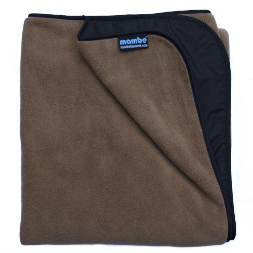 Mambe Extreme Weather 100% Waterproof/Windproof Outdoor Blanket, Camping Blanket…