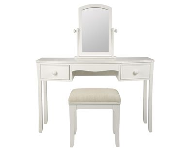Broughton Ivory Dressing Table Set - perfect for putting on your morning make-up. #Classic #Furniture