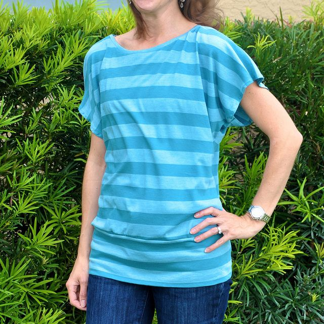 Love this top. Free pattern found here