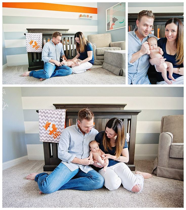 What Does the Fox Say? Fox-themed nursery | Dallas Newborn Lifestyle Session