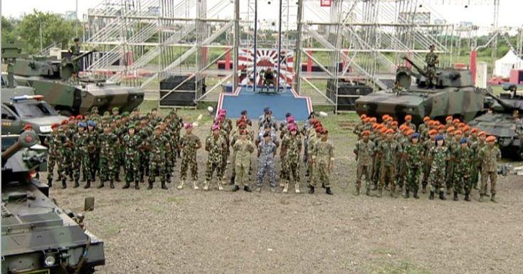 TNI AL Siap Susul TNI AD di Sasuke Ninja Warrior