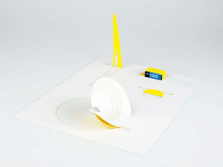 conductive electronic paper speakers by coralie gourguechon