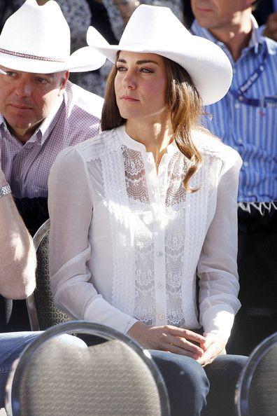 Kate Middleton Photos - The Duke and Duchess of Cambridge Attend the Calgary Stampede Parade 2 - Zimbio
