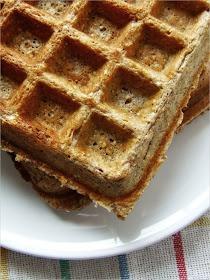 Zielenina: Niedzielne śniadanie - gofry owsiane