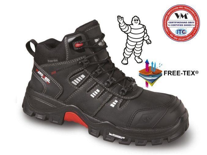 Kotnikova Pracovni Obuv Celokozena S Membranou Non Metalic Cena 1999kc Boots Hiking Boots Shoes