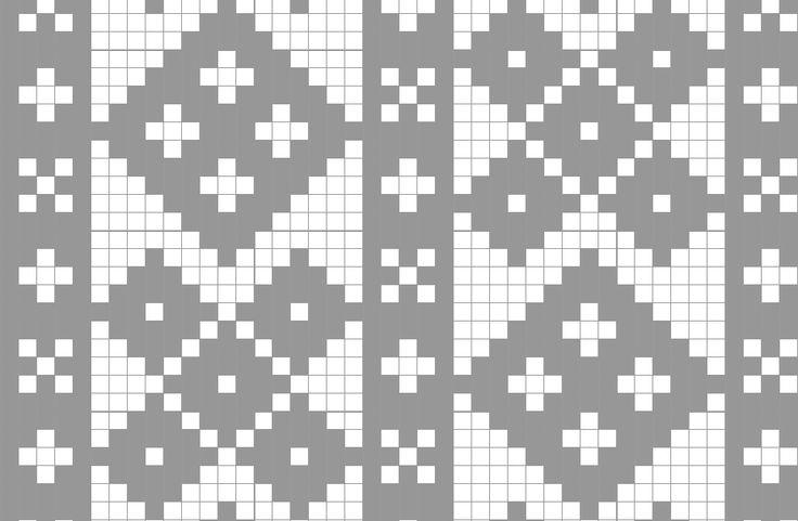 Mønster til stolpetrøye