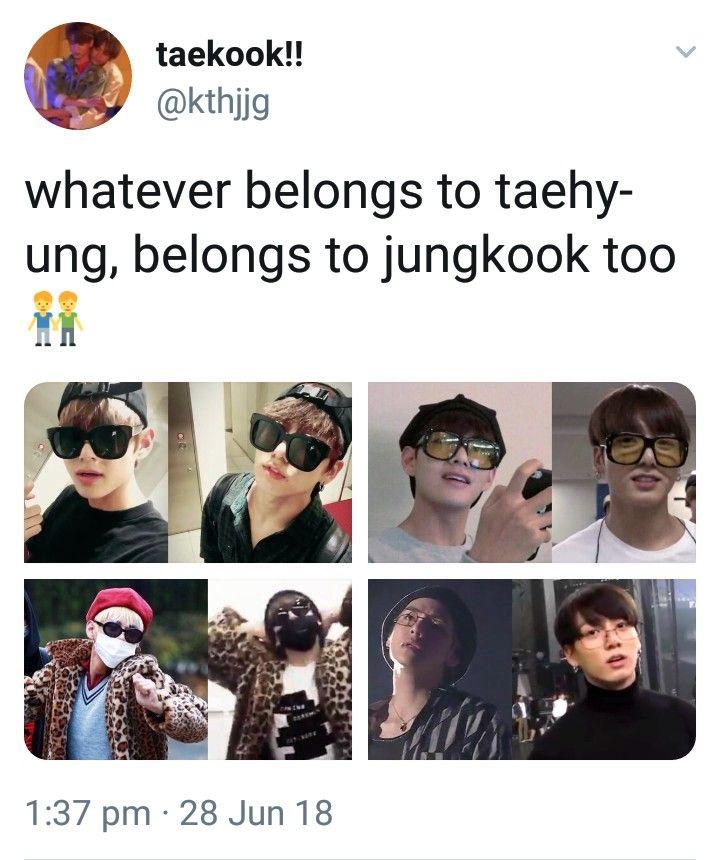 sim, porque namorados compartilham as coisas   BTS   BTS, Bts memes