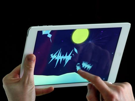Dezeen Music Project: UK visualisation studio Universal Everything has designed an augmented reality app that lets users navigate and manipulate digital environments that accompany music by British band Radiohead (+ movie).