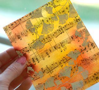 Creating Resin Papers with Distress Inks (gorgeous with or without the final resin finishing step) -- tutorial by Betsy Veldman