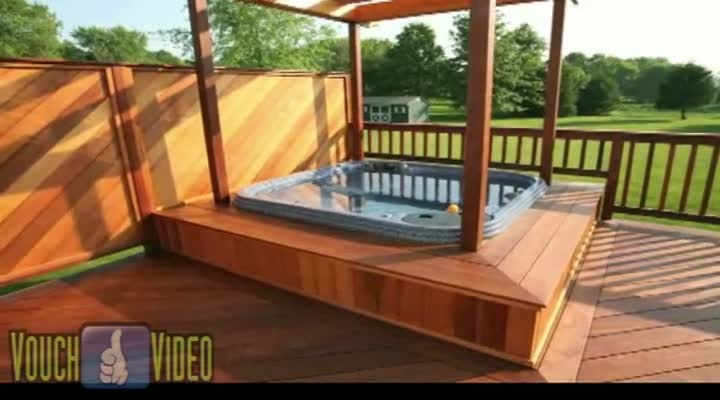 170 best images about backyard ideas on pinterest for Hot tub designs and layouts