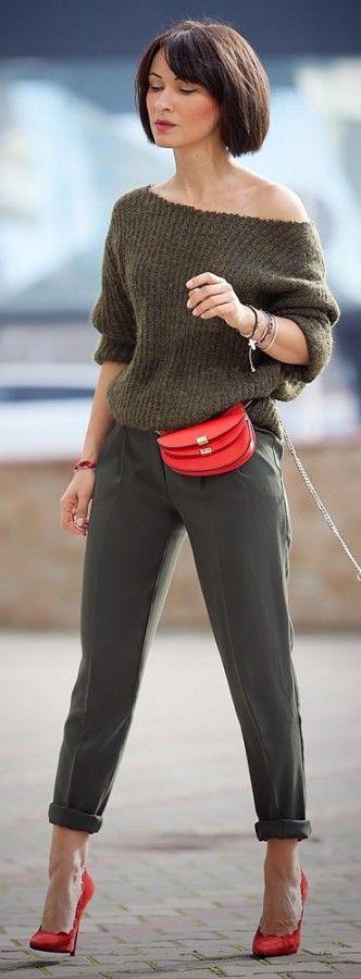 Look! Красная сумочка! 0