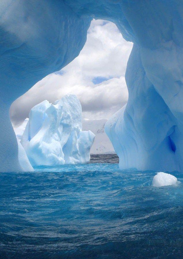 Awe Inspiring Arctic Scene