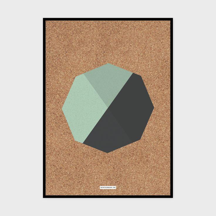 Kork 4 - plakat fra bentzenberg.dk Cork Poster