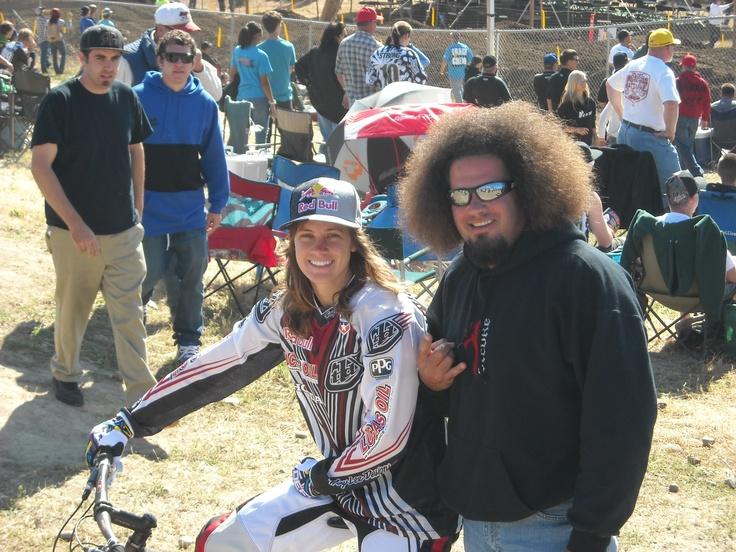 Me and Tara Geiger