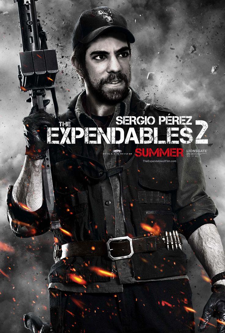"""Montaje de la película """"Los Mercenarios 2"""", con Chuck Norris. Para realizarlo he usado  especialmente las herramientas Curvas y Niveles ya que el póster tiene un contraste muy acentuado. La fuente se llama """"Capture it"""" y es la misma que utilizaron en el cartel original."""