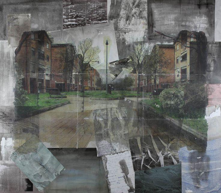 Fabrizio Falchi - Foliage - Painting - Contemporary Art
