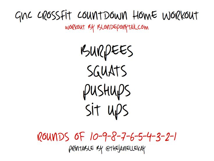 Crossfit Countdown Home Workout.001