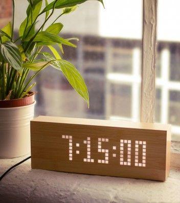 Achetez horloge/réveil qui vous permet d'afficher des messages sur lavantgardiste.com