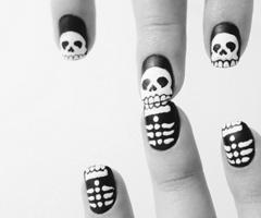 Skeleton nails!