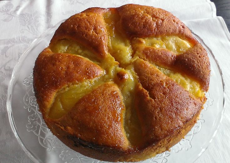 Perencake met Sauternes (Dani Cuypers - Koken zonder...)